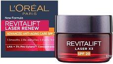 L'Oreal Revitalift Laser X3 - SPF 20 - крем
