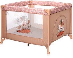 Сгъваема бебешка кошара за игра - Game Zone: Beige Foxy - продукт