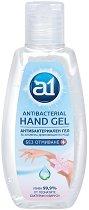 Антибактериален гел за ръце - A1 - Със 70% спирт, в разфасовки от 80 и 500 ml - тампони