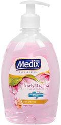 Течен сапун с антибактериална съставка - Medix Lovely Magnolia - продукт