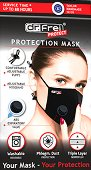 Предпазна маска с клапан за многократна употреба
