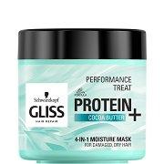 Gliss 4-in-1 Moisture Mask - Хидратираща маска за увредена и суха коса -