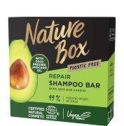 Nature Box Avocado Oil Shampoo Bar - Възстановяващ твърд шампоан за коса с масло от авокадо - балсам