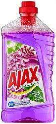 Универсален почистващ препарат с аромат на люляк - Ajax - Разфасовка от 1 l - шампоан