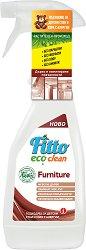 Почистващ препарат с растителни съставки за мебели - Fitto Eco Clean - Подходящ за детски стаи и хора с алергии - разфасовка от 0.500 l - продукт