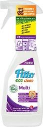 Универсален почистващ препарат с растителни съставки - Fitto Eco Clean - Подходящ за детски стаи и хора с алергии - разфасовка от 0.500 l - боя
