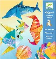 Оригами - Животни от океана - играчка