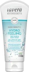Lavera Basis Sensitiv Hydro Feeling Hair and Body Wash - гел