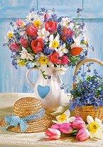 Пролет във ваза - пъзел