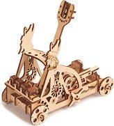 Катапулт - Механичен 3D пъзел - пъзел