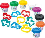 Пластилин с формички - Комплект от 8 цвята