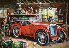 Винтидж гараж - пъзел