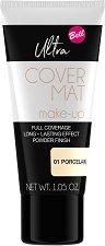 Bell Ultra Cover Mat Make-Up - Фон дьо тен с матов ефект - червило
