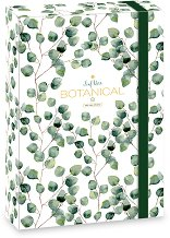 Кутия с ластик - Botanic Leaf