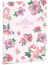 Папка с ластик - Botanic Mallow