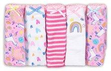 """Детски бикини - Комплект от 5 броя от серията """"MINOTI Basics"""" -"""