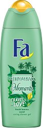 Fa Throwback Moments Travel Love Caring Shower Gel -