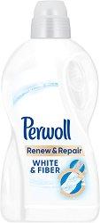 Течен перилен препарат за бяло пране - Perwoll Renew & Repair - Разфасовка от 1.8 l -
