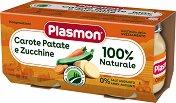 Plasmon - Пюре от моркови с картофи и тиквички - продукт