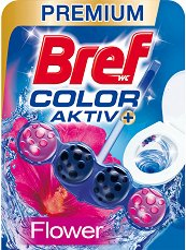 Тоалетно блокче - Bref Color Aktiv - С аромат на цветя - опаковки от 1 ÷ 3 броя - душ гел