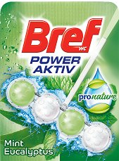 Тоалетно блокче - Bref Power Aktiv ProNature - продукт