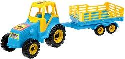 Трактор с ремарке - фигура
