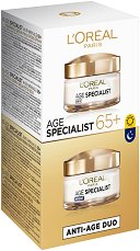 L'Oreal Age Specialist 65+ Duo Pack -