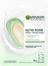 Garnier Nutri Bomb Milky Tissue Mask - серум