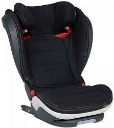 """Детско столче за кола - iZi Flex S FIX: Premium Car Interior Black - За """"Isofix"""" система и деца от 15 до 36 години - пюре"""