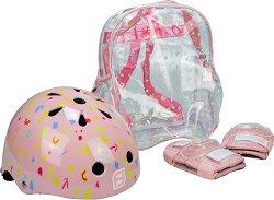Детска каска и протектори - играчка