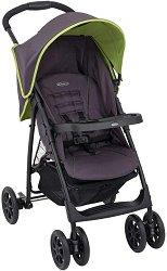 Лятна бебешка количка - Mirage Plus - С 4 колела - пюре