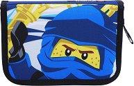 Несесер с ученически пособия - LEGO Ninjago: Jay of Lightning -