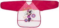 Лигавник с ръкави и джоб - Minnie - За бебета над 6 месеца -