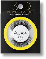 Aura 3D Power Lashes Like 25 - Изкуствени мигли с 3D ефект -