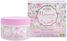 Victoria Beauty Roses & Hyaluron Face Cream - лак