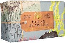 English Soap Company Ocean Seaweed - Луксозен ексфолиращ сапун с океански водорасли - продукт
