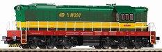 Дизелов локомотив - T770 PJ Most CD - ЖП модел -