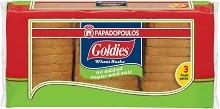 Пшенични сухари без захар и сол - Goldies - Опаковка от 240 g - пюре