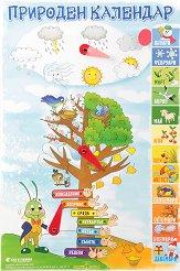Златно ключе: Учебно табло - Природен календар за 3. група на детската градина -