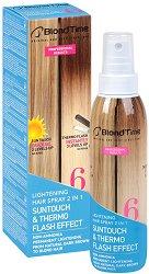 Blond Time 6 Lightening Hair Spray 2 in 1 - маска