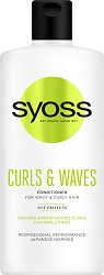 Syoss Curls & Waves Conditioner - Балсам за къдрава коса -