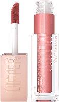 Maybelline Lifter Gloss Lip Gloss - Хидратиращ гланц за обемни и плътни устни с хиалуронова киселина - фон дьо тен