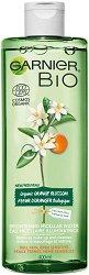 "Garnier Bio Orange Blossom Micellar Cleansing Water - Био мицеларна вода с портокалов цвят от серията ""Garnier Bio"" - душ гел"