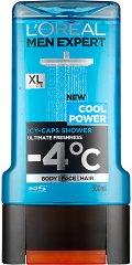 L'Oreal Men Expert Cool Power Shower Gel - крем