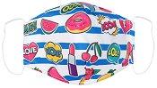 Детска предпазна маска за многократна употреба - Fun