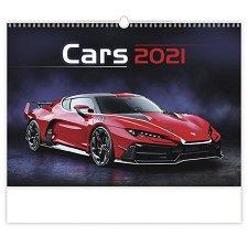Стенен календар - Cars 2021 -