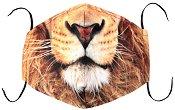 Универсална трислойна маска за многократна употреба - Лъвска муцуна