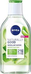 Nivea Naturally Good Organic Aloe Vera Micellar Water - Мицеларна вода с био алое вера -