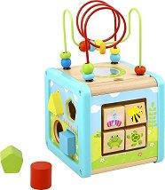 Дидактически куб - Слънчев ден - играчка