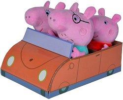 Семейството на Пепа Пиг - Комплект 4 плюшени играчки -